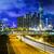 trafik · iz · şehir · manzara · köprü · karayolu - stok fotoğraf © leungchopan