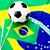 フラグ · サッカーボール · サッカー · サッカー · 緑 · 行使 - ストックフォト © leungchopan