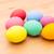 kék · húsvéti · tojás · izolált · fehér · csokoládé · tojás - stock fotó © leungchopan