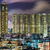 centro · da · cidade · noite · negócio · edifício · cidade · linha · do · horizonte - foto stock © leungchopan