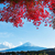 fuji · lago · neve · montanha · outono · branco - foto stock © leungchopan