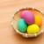 renkli · boyalı · easter · egg · sepet · bahar · gıda - stok fotoğraf © leungchopan