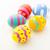 színes · húsvéti · tojás · vászon · húsvét · boldog · háttér - stock fotó © leungchopan