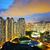 konut · daire · Hong · Kong · gece - stok fotoğraf © leungchopan