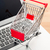 shopping trolley with laptop stock photo © leungchopan