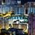 yerleşim · bölge · Hong · Kong · su · şehir · gece - stok fotoğraf © leungchopan