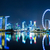 Singapore · City · Night · hemel · water · stad · licht - stockfoto © leungchopan