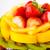de · uva · tarta · tarta · de · queso · uvas · azúcar · en · polvo · superficial - foto stock © leungchopan