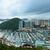 barınak · Hong · Kong · gökyüzü · dağ · gece · tekne - stok fotoğraf © leungchopan