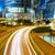 Hong · Kong · şehir · meşgul · trafik · gece · iş - stok fotoğraf © leungchopan
