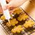 eigengemaakt · peperkoek · voedsel · glimlach · hout · cake - stockfoto © leungchopan