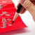 writing of chinese new year calligraphy phrase meaning is happy stock photo © leungchopan