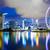 Cingapura · linha · do · horizonte · distrito · comercial · marina · água · arquitetura - foto stock © leungchopan