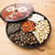 ano · novo · chinês · bandeja · comida · vermelho · preto - foto stock © leungchopan