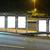 cartellone · fermata · dell'autobus · notte · strada · città · vetro - foto d'archivio © leungchopan