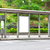 otobüs · durağı · reklam · ilan · panosu · boş · sokak · bo - stok fotoğraf © leungchopan