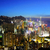 Hong · Kong · şehir · gece · iş · Bina · şehir · gece - stok fotoğraf © leungchopan