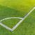 coin · terrain · de · football · herbe · artificielle · blanche · ligne · herbe - photo stock © leungchopan