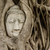 Будду · голову · дерево · стены · азиатских · статуя - Сток-фото © leungchopan