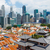 chinatown and business center of singapore stock photo © leungchopan