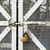 metal door with lock stock photo © leungchopan