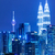 Kuala · Lumpur · panorama · wieża · noc · Malezja · drogowego - zdjęcia stock © leungchopan