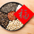 assorted chinese sytle snack tray and chinese calligraphy meani stock photo © leungchopan