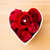 czerwona · róża · pierścionek · z · brylantem · wewnątrz · kształt · serca · puchar · miłości - zdjęcia stock © leungchopan