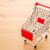 negócio · textura · metal · vermelho · cor · supermercado - foto stock © leungchopan