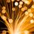 golden fibre optic strands stock photo © leungchopan