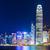 Hong · Kong · linha · do · horizonte · noite · negócio · escritório · edifício - foto stock © leungchopan