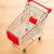 textura · fundo · vermelho · compras · mercado - foto stock © leungchopan