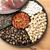 bandeja · ano · novo · comida · vermelho · preto - foto stock © leungchopan