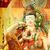 zen · chinese · goud · woord · geïsoleerd · Rood - stockfoto © leungchopan