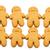 Gingerbread cookies for xmas stock photo © leungchopan