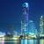 Hong · Kong · gece · Bina · şehir · ev · ufuk · çizgisi - stok fotoğraf © leungchopan