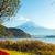 fuji · outono · paisagem · lago · rio · planta - foto stock © leungchopan