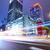 şehir · sokak · gece · iş · Bina · ışık · alışveriş - stok fotoğraf © leungchopan