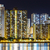 Hong · Kong · gece · iş · gökyüzü · ofis · Bina - stok fotoğraf © leungchopan