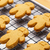 Baked gingerbread cookies stock photo © leungchopan