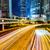 trafik · iz · Hong · Kong · şehir · gece · iş · ofis - stok fotoğraf © leungchopan