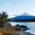 montanha · fuji · ver · lago · pôr · do · sol · panorama - foto stock © leungchopan