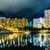 résidentiel · bâtiment · Hong-Kong · nuit · eau · maison - photo stock © leungchopan