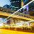 carretera · tráfico · Hong · Kong · noche · resumen · luz - foto stock © leungchopan