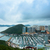 iş · gökyüzü · Bina · gece · tekne · ufuk · çizgisi - stok fotoğraf © leungchopan