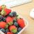 ягодные · обед · окна · рабочих · столе - Сток-фото © leungchopan