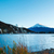 fuji · lago · jardim · montanha · rio · planta - foto stock © leungchopan
