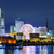 Иокогама · Skyline · ночь · бизнеса · здании · красный - Сток-фото © leungchopan