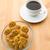 gingerbread man with coffee stock photo © leungchopan