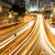 urbanas · paisaje · ocupado · tráfico · Hong · Kong · noche - foto stock © leungchopan